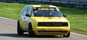 Smällarens Racingteam rallybilen